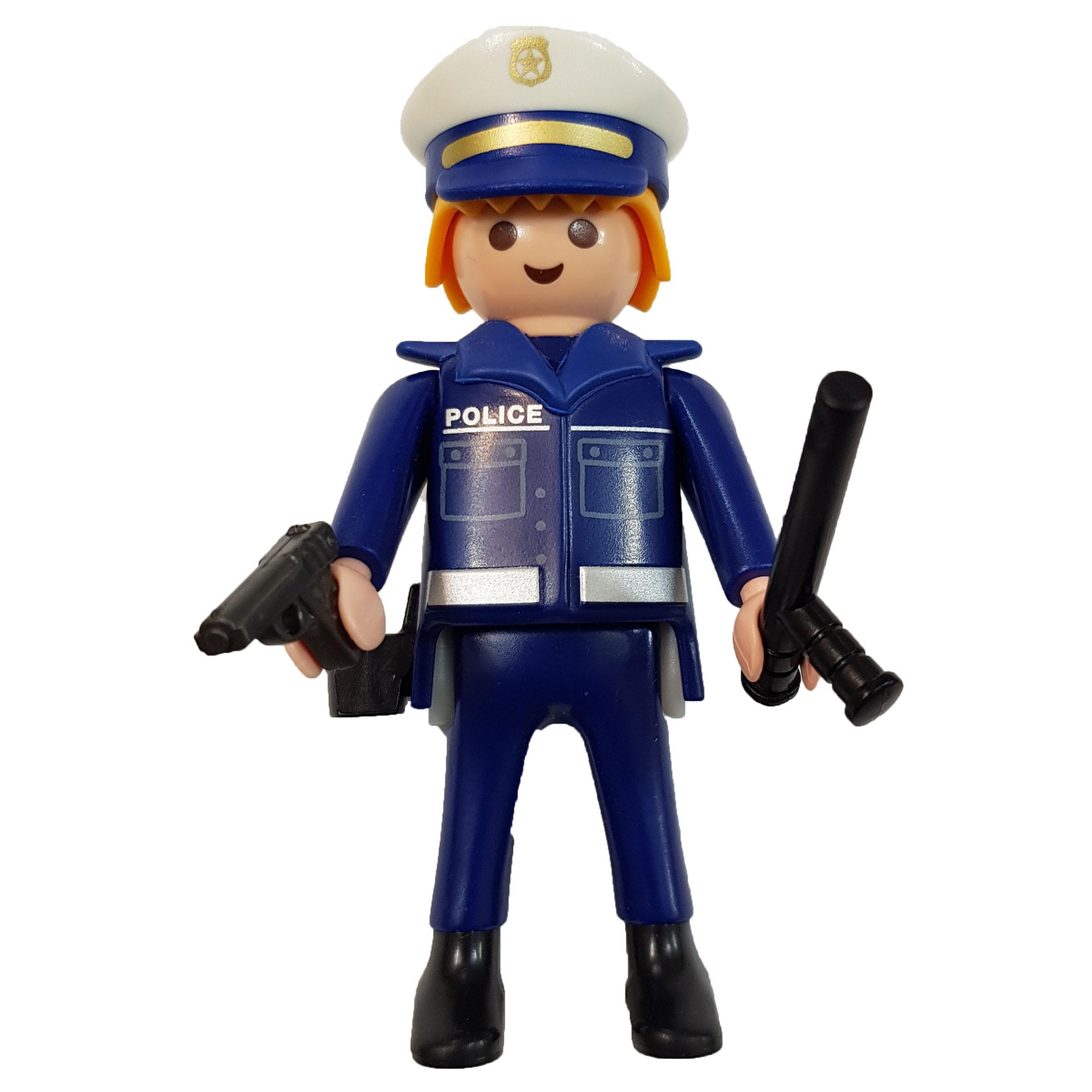 ساختنی پلی موبیل مدل پلیس راهنمایی رانندگی