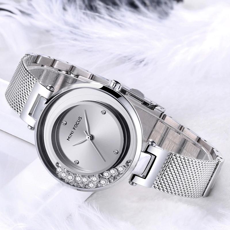 خرید و قیمت                      ساعت مچی  زنانه مینی فوکوس مدل mf0254l.01