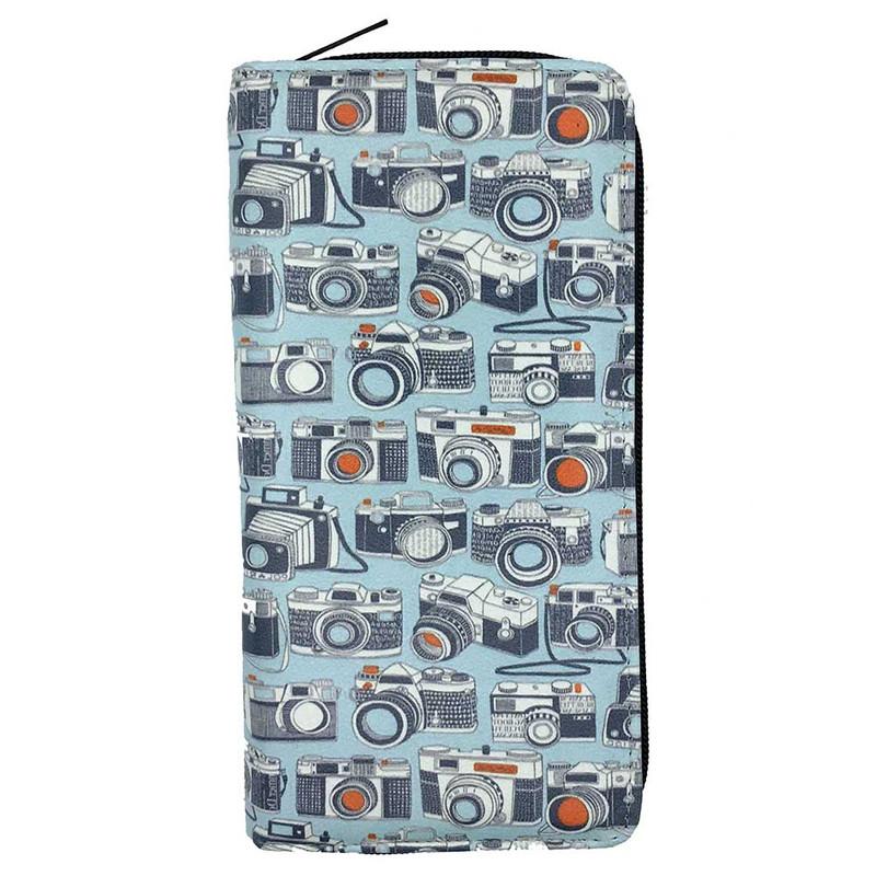 کیف پول دخترانه طرح دوربین کد VZ02
