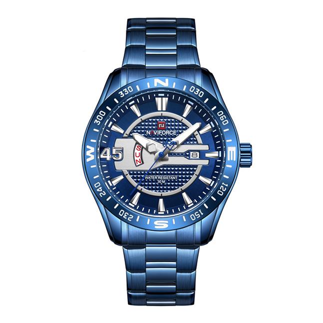 قیمت و خرید                      ساعت مچی عقربه ای مردانه نیوی فورس مدل NF9157 BE