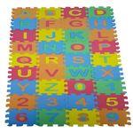 بازی آموزشی طرح حروف الفبا و اعداد انگلیسی بسته 36 عددی
