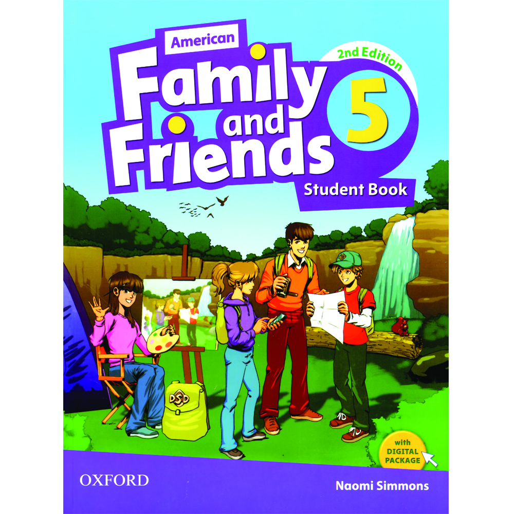 خرید                      کتاب 5 American Family and Friends اثر Naomi Simmons انتشارات Oxford