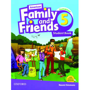 کتاب 5 American Family and Friends اثر Naomi Simmons انتشارات Oxford
