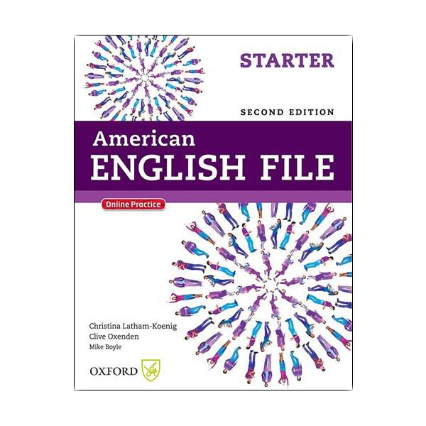 کتاب American English File Starter SECOND EDITION اثر جمعی از نویسندگان انتشارات جنگل