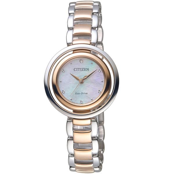ساعت مچی عقربه ای زنانه سیتی زن مدل EM0666-89D