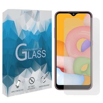 محافظ صفحه نمایش مدل TGSP مناسب برای گوشی موبایل سامسونگ Galaxy A01