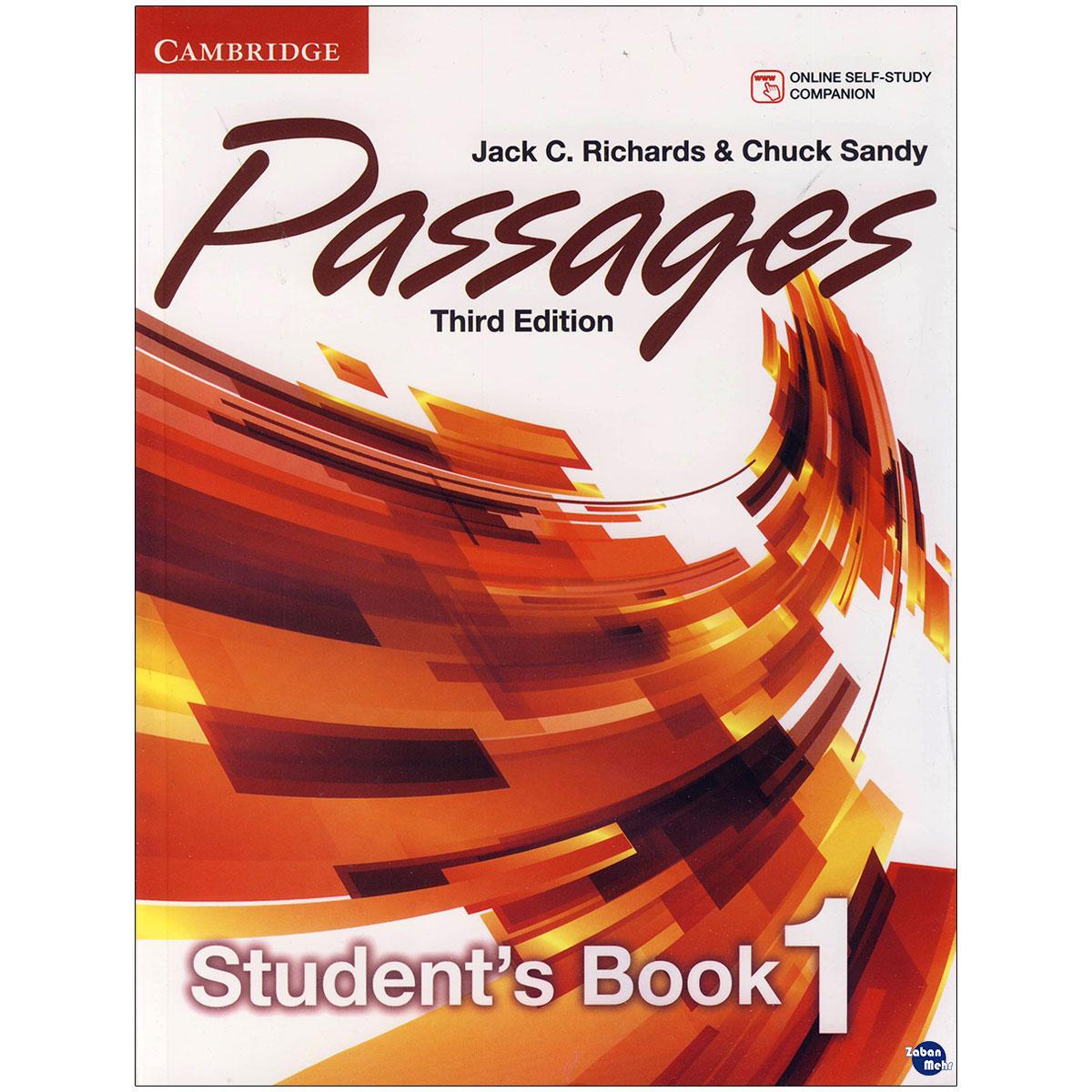 خرید                      کتاب  Passages 1 اثر Jack C. Richards and Chuck Sandy انتشارات زبان مهر