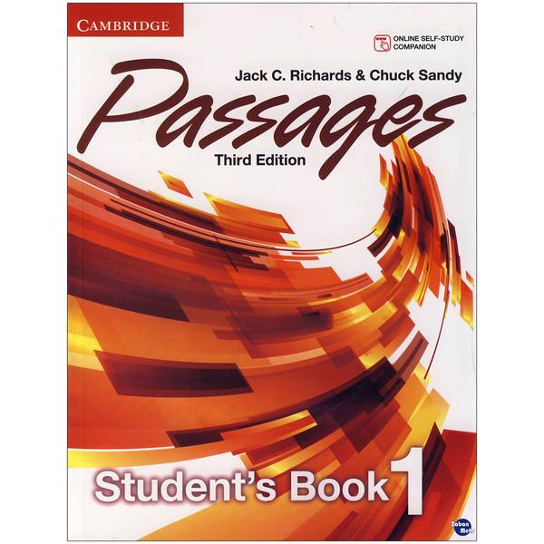 کتاب  Passages 1 اثر Jack C. Richards and Chuck Sandy انتشارات زبان مهر