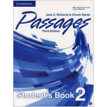 کتاب Passages 2 اثر Jack C. Richards and Chuck Sandy انتشارات زبان مهر