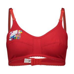 سوتین دخترانه مدل پریا رنگ قرمز