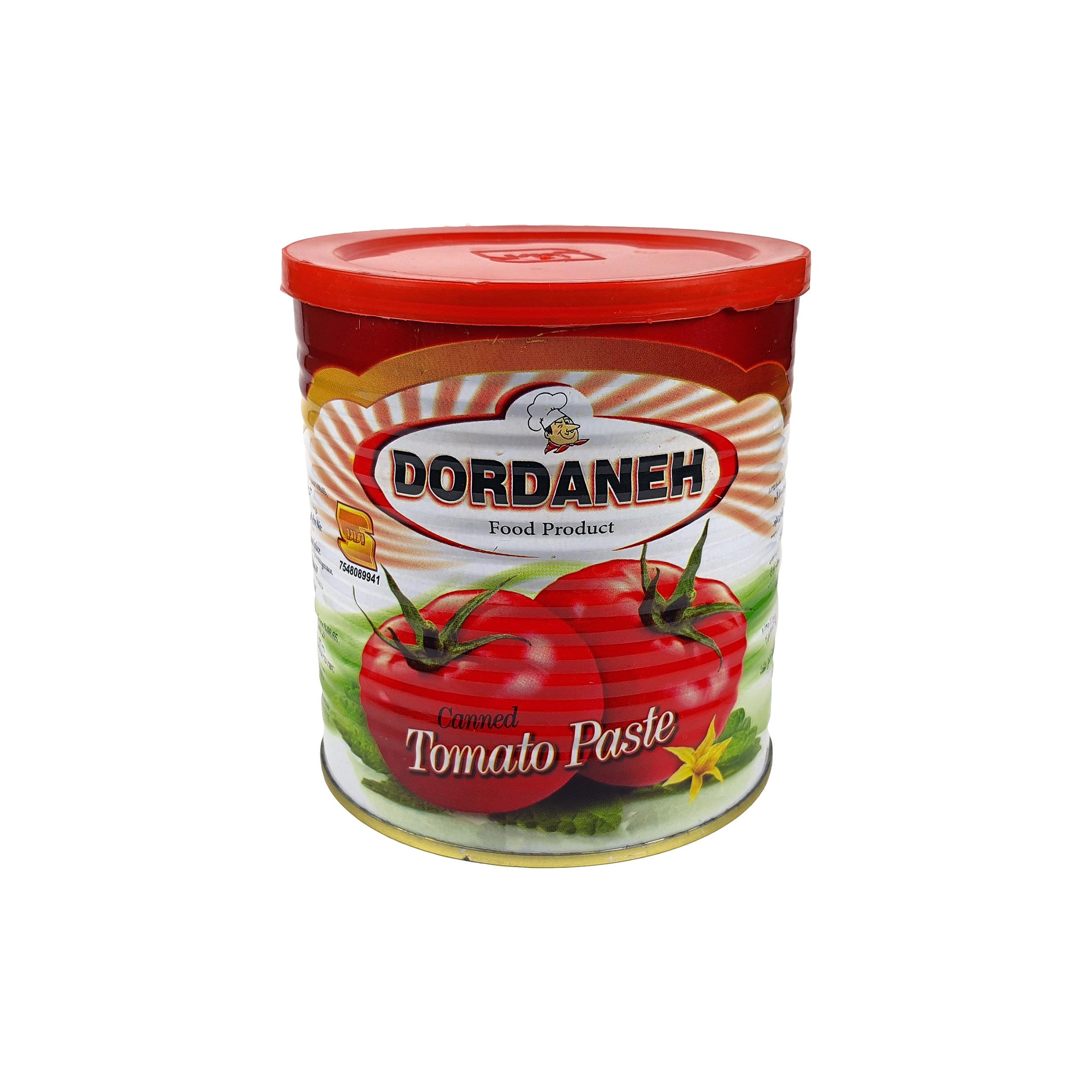 کنسرو رب گوجه فرنگی دردانه - 800 گرم