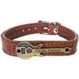 دستبند چرم وارک طرح گیتار مدل رادمان کد rb143 thumb 1
