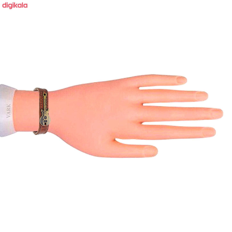 دستبند چرم وارک طرح گیتار مدل رادمان کد rb143 main 1 3