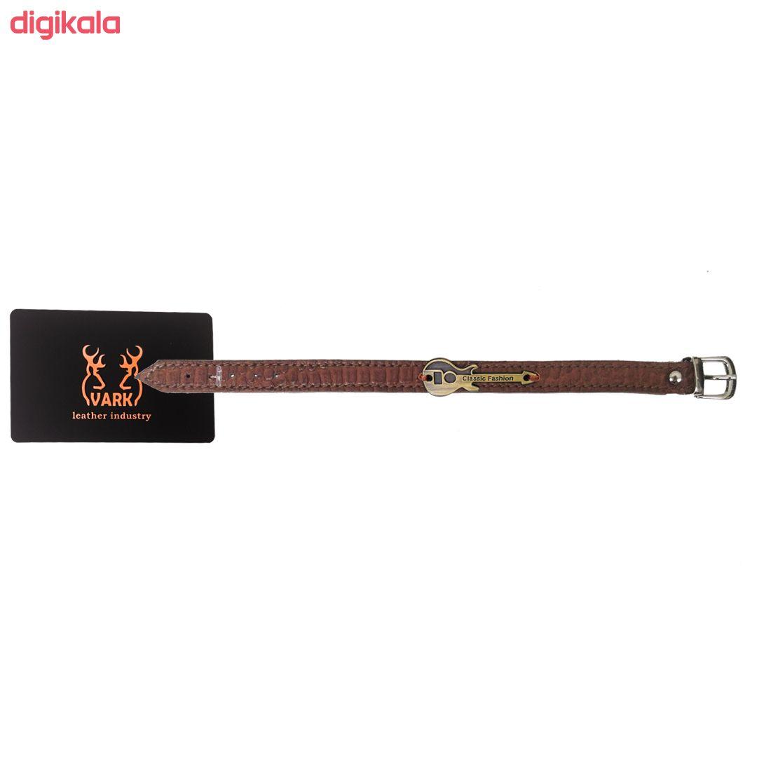 دستبند چرم وارک طرح گیتار مدل رادمان کد rb143 main 1 2