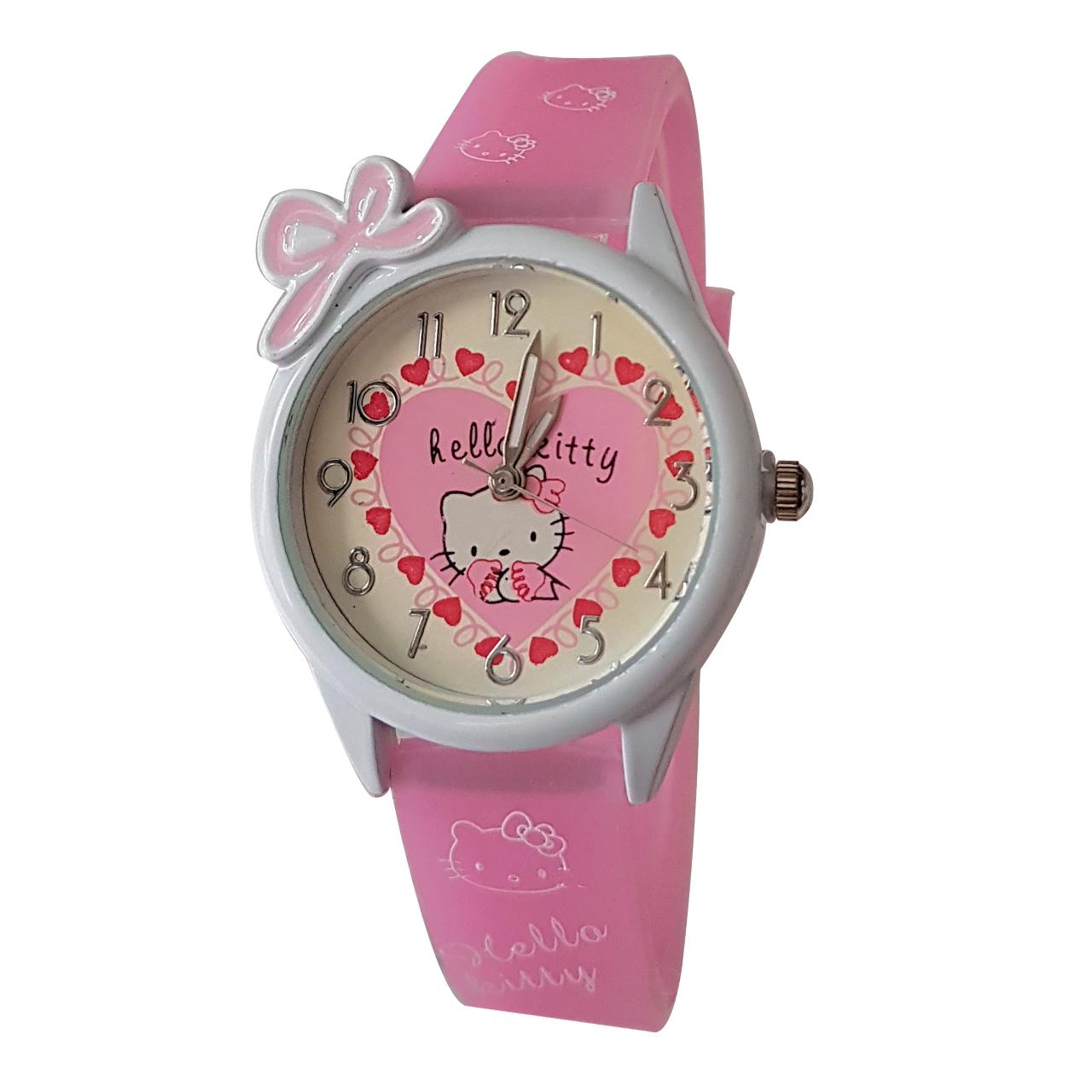ساعت مچی عقربه ای دخترانه کد Kit-1