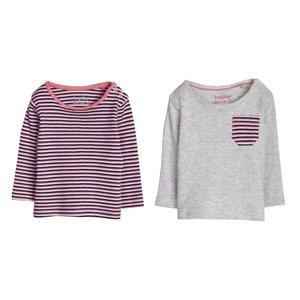 تی شرت آستین بلند نوزادی لوپیلو مدل LP22 مجموعه 2 عددی