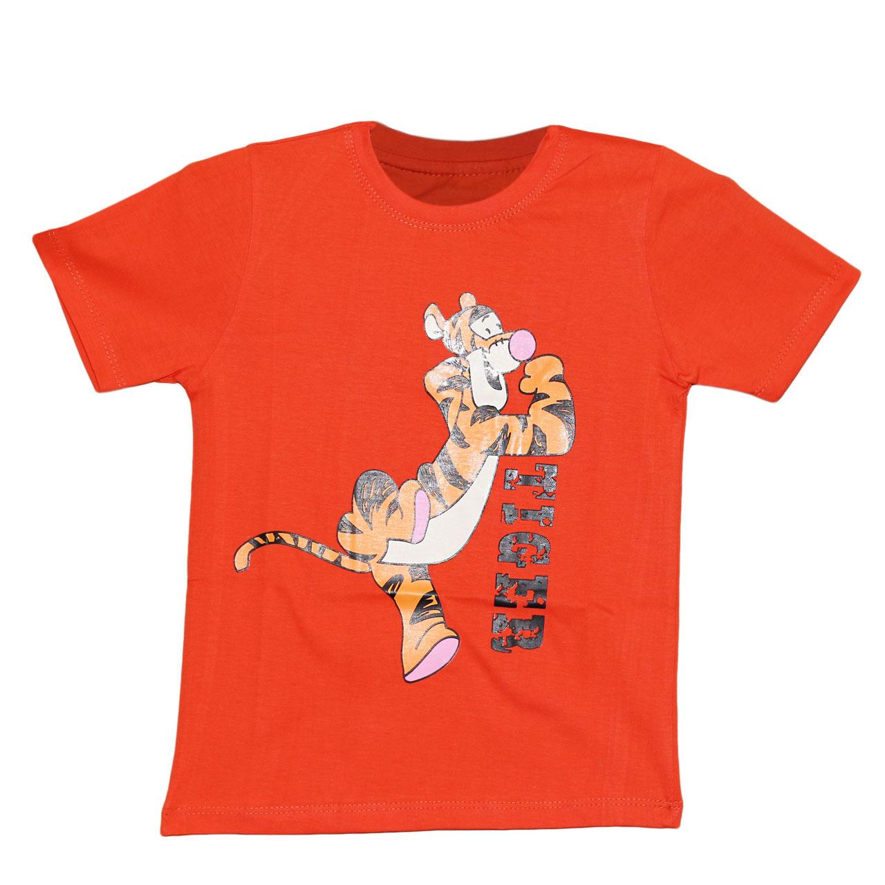 تی شرت بچگانه طرح تایگر کد CH17