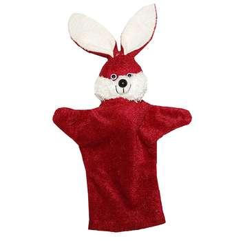 عروسک نمایشی طرح خرگوش ارتفاع 33 سانتی متر