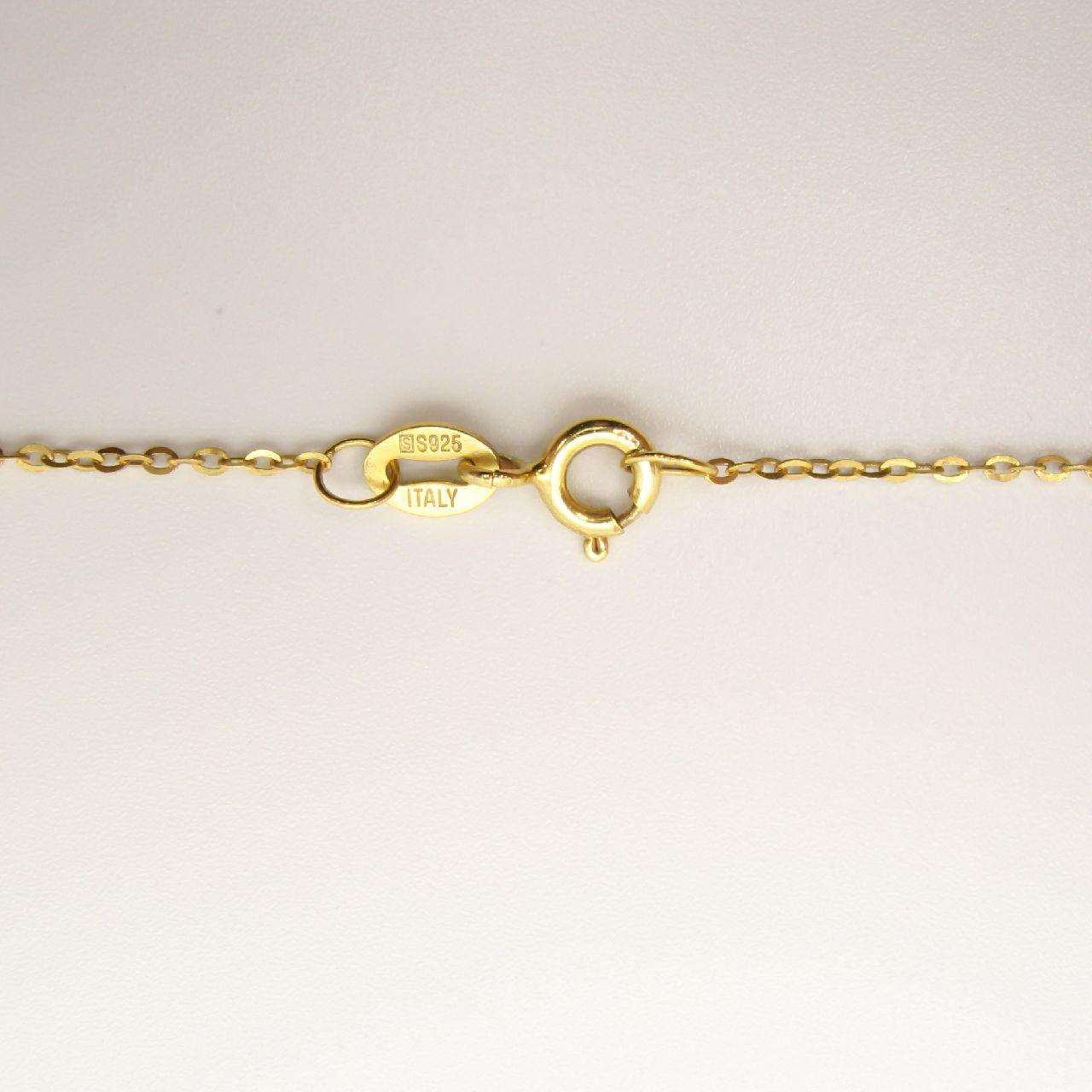 گردنبند طلا 18 عیار زنانه مانچو کد sfgs017 thumb 2 4