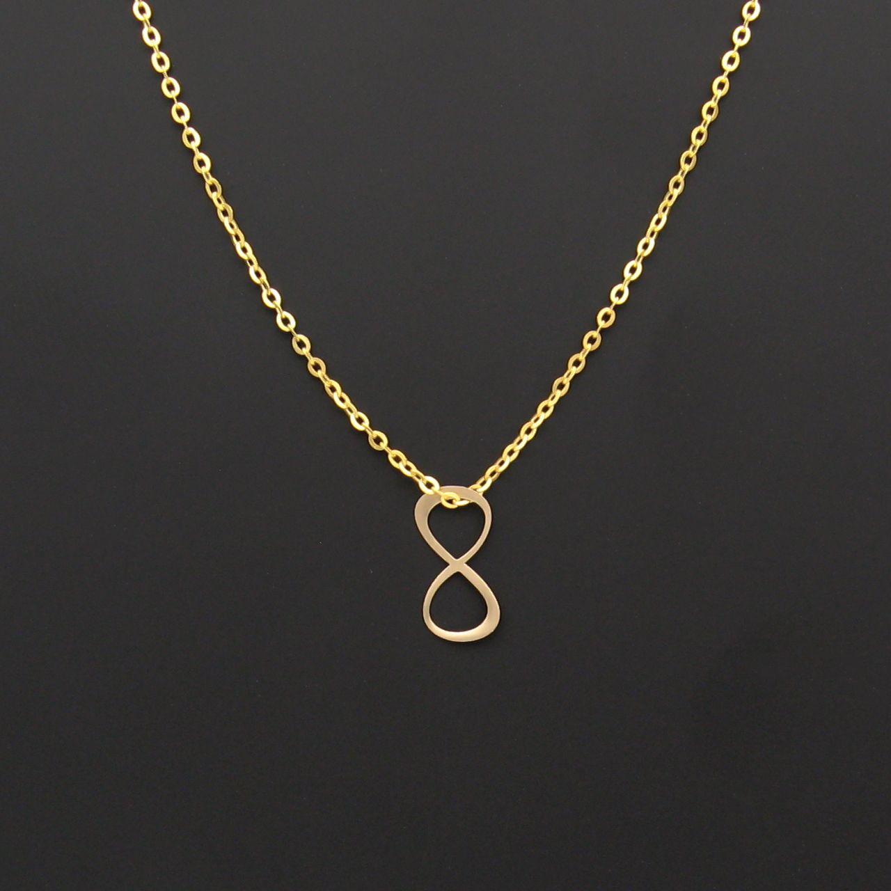 گردنبند طلا 18 عیار زنانه مانچو کد sfgs017 thumb 2 2