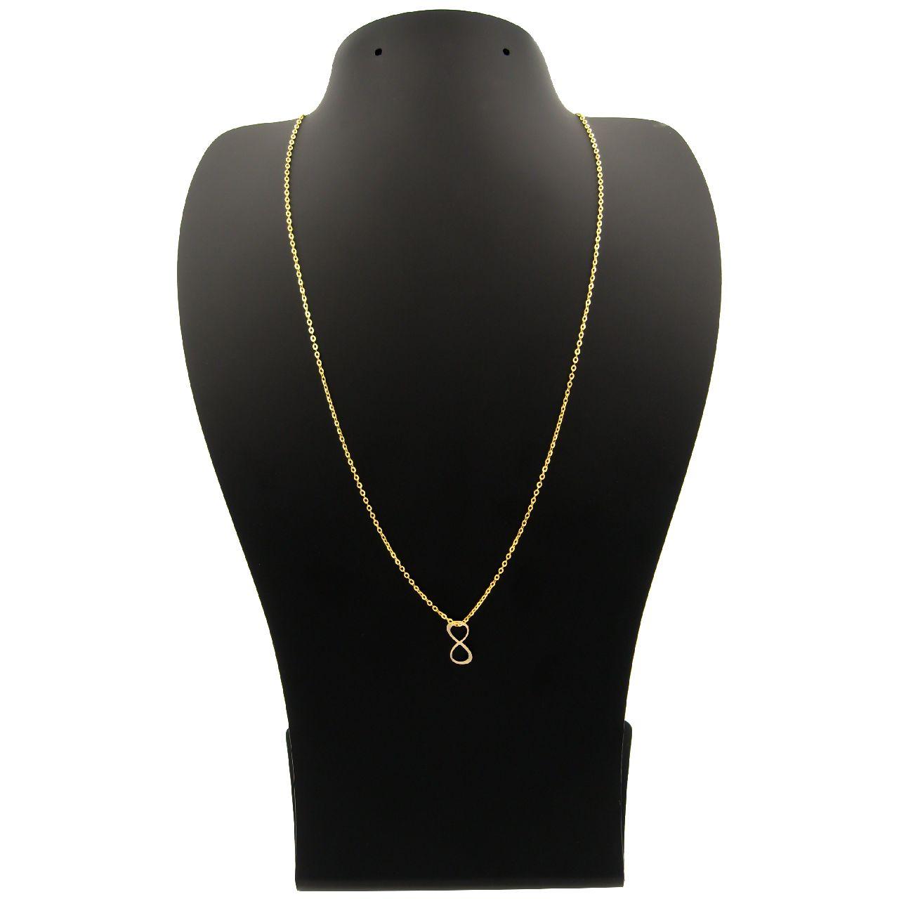 گردنبند طلا 18 عیار زنانه مانچو کد sfgs017 thumb 2 1