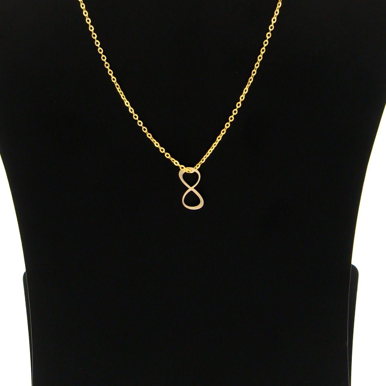 گردنبند طلا 18 عیار زنانه مانچو کد sfgs017 thumb 2 3