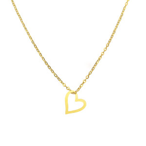 گردنبند طلا 18 عیار زنانه مانچو کد sfgs016