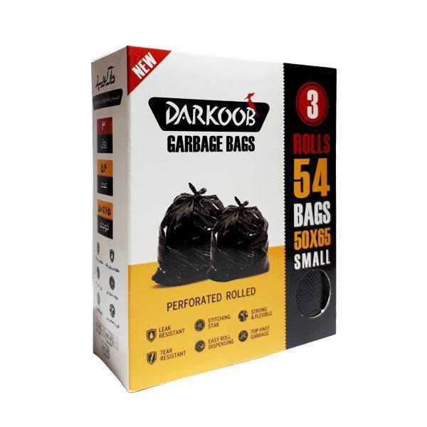 کیسه زباله دارکوب مدل B04 بسته 54 عددی
