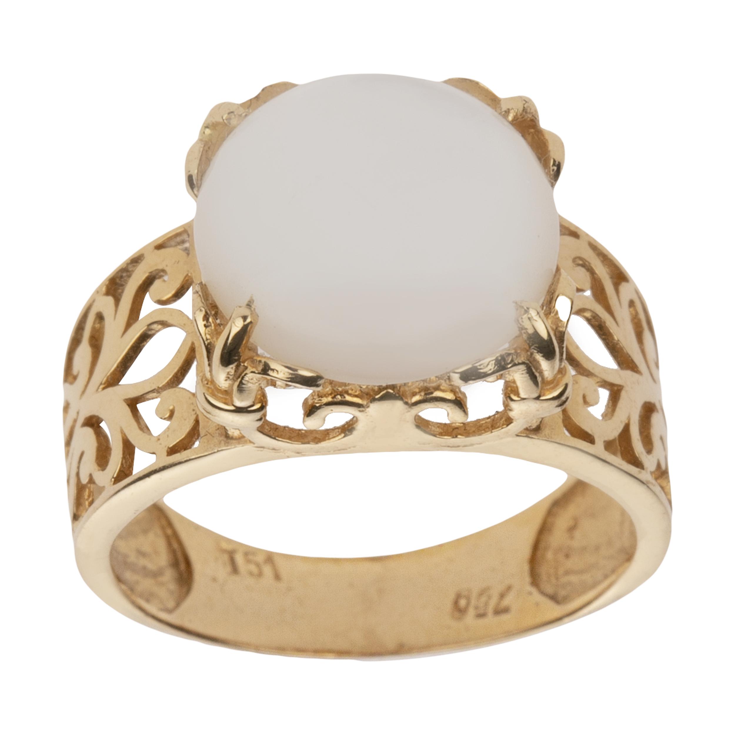 انگشتر طلا 18 عیار زنانه میو گلد مدل DG154