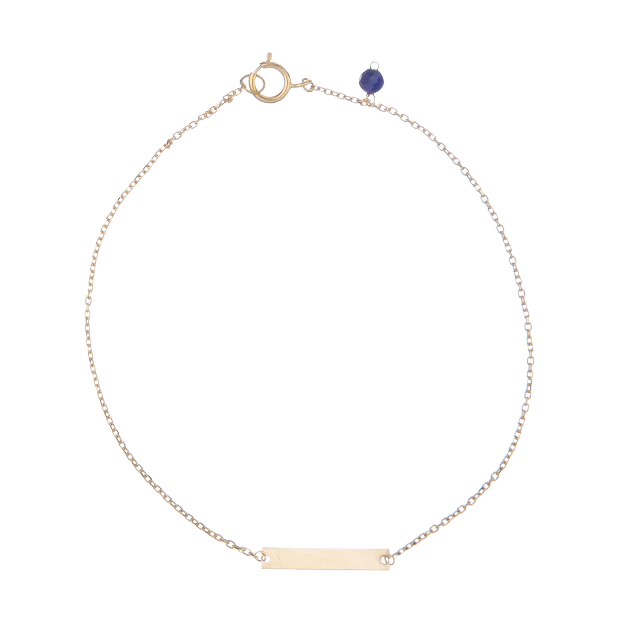 پابند طلا 18 عیار زنانه نیوانی مدل PA007