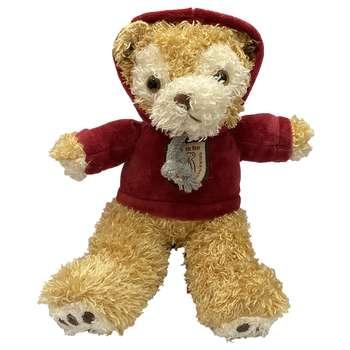 عروسک طرح خرس سویشرتی ارتفاع 20 سانتی متر