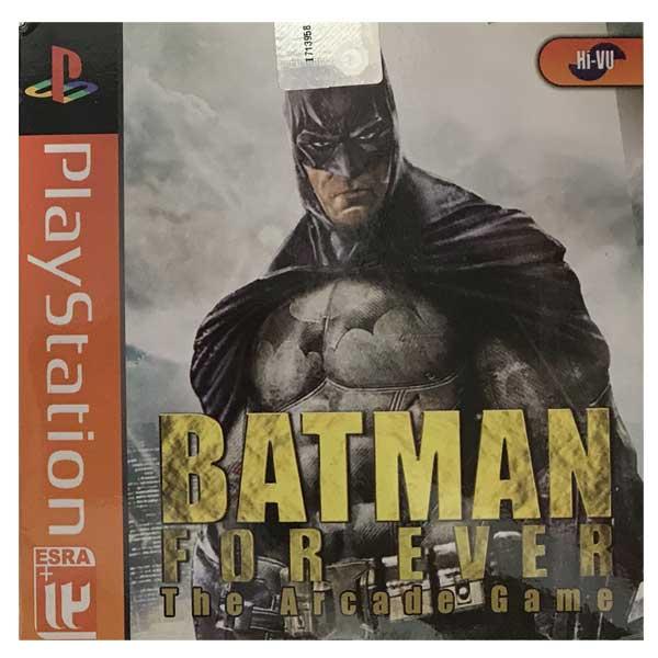 خرید اینترنتی بازی Batman Forever مخصوص PS1 اورجینال