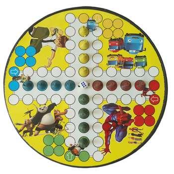 بازی فکری طرح منچ و مارپله مدل SPMAN