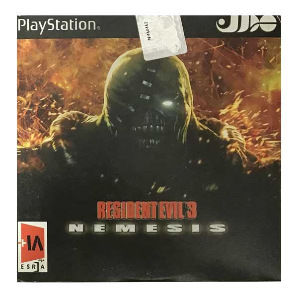 خرید اینترنتی بازی Resident Evil 3 Nemesis مخصوص PS1 اورجینال