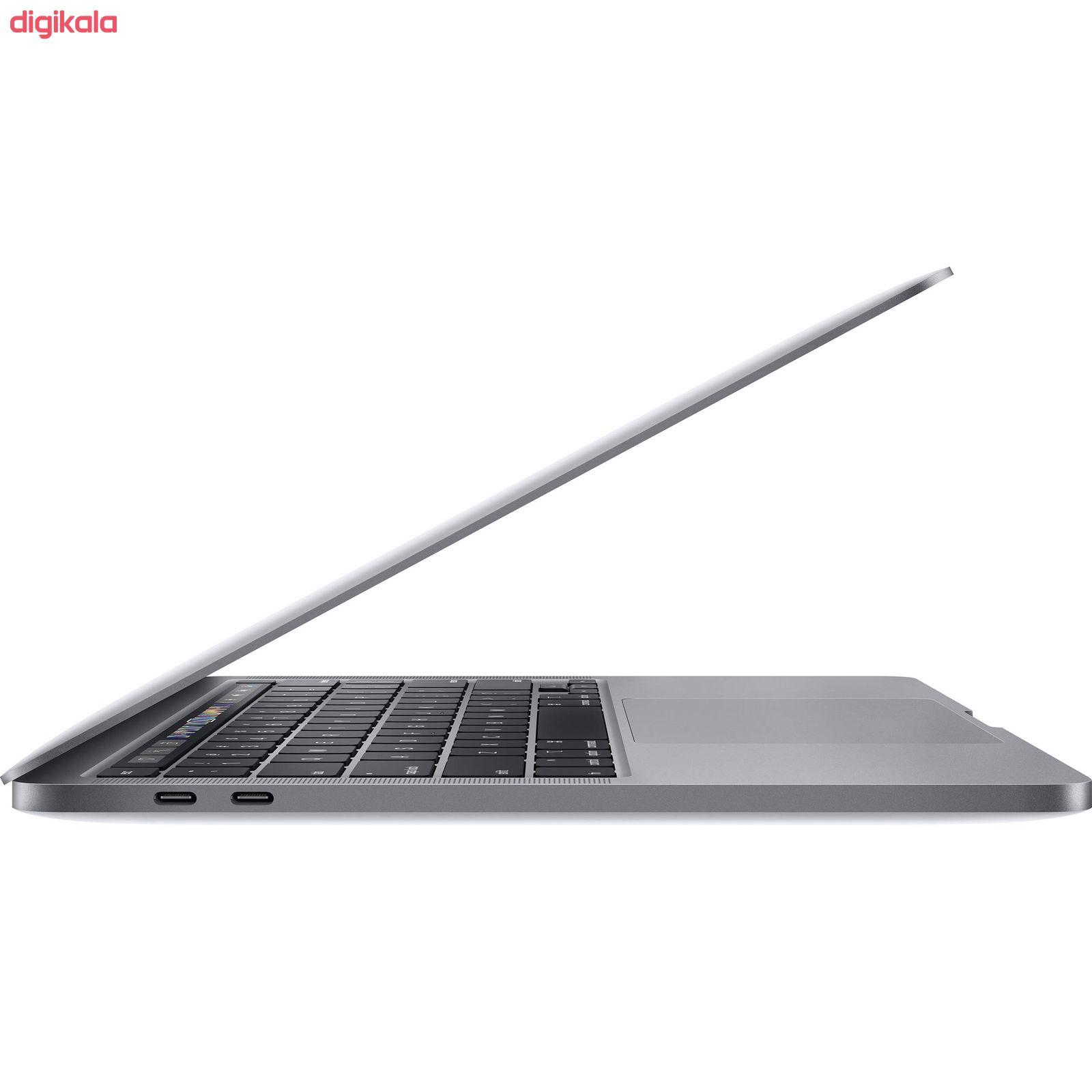 لپ تاپ 13 اینچی اپل مدل MacBook Pro MXK32 2020 همراه با تاچ بار  main 1 2