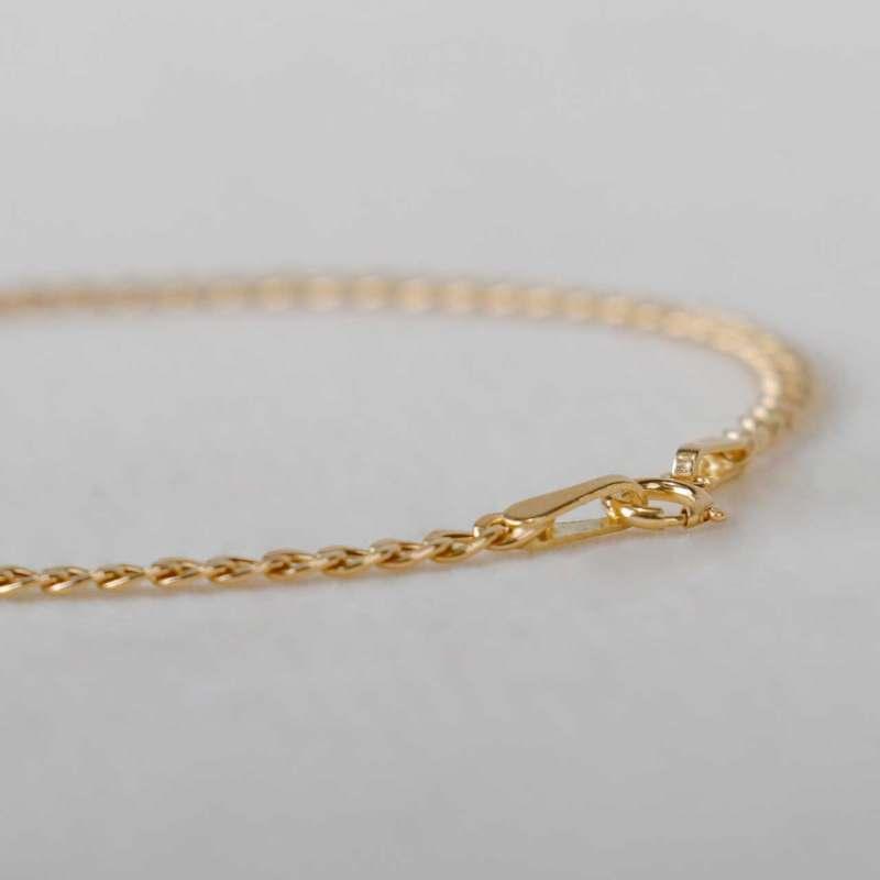 دستبند طلا 18 عیار زنانه کانیار گالری کد D59