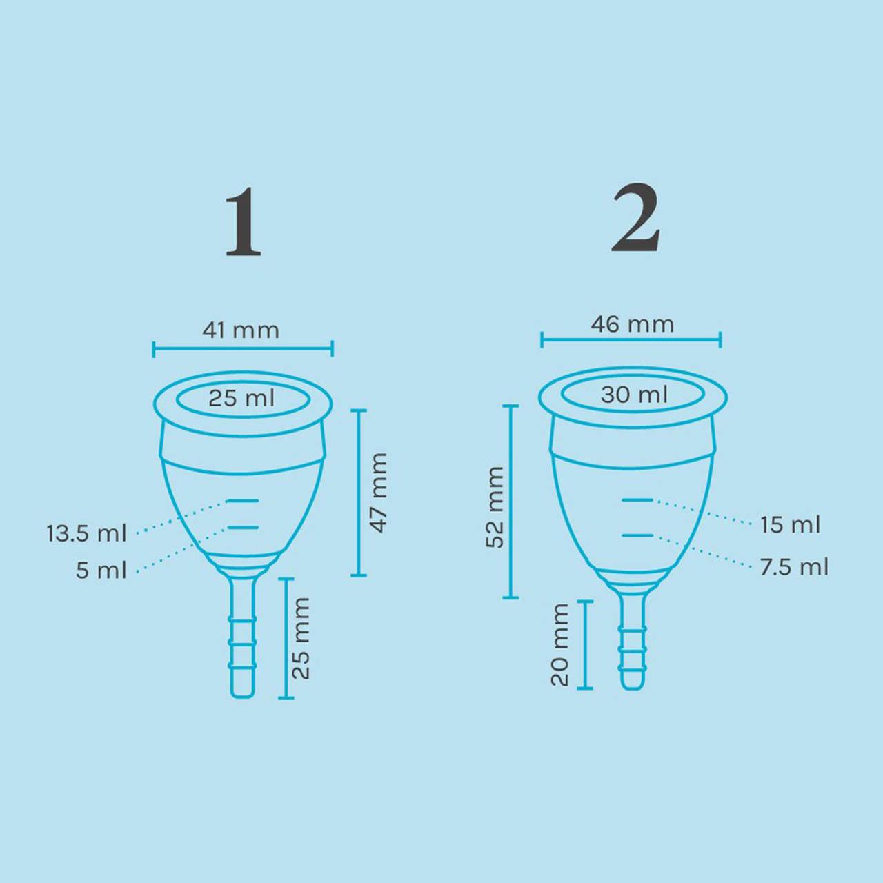کاپ قاعدگی لونت مدل ساقه ای سایز متوسط