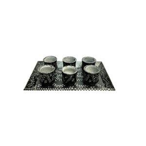 سرویس قهوه خوری سنگی 7 پارچه کد SGM01