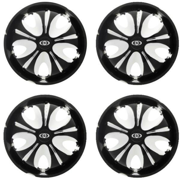قالپاق چرخ ام اچ بی مدل SPC393 سایز 13 اینچ مناسب برای تیبا 2 بسته 4 عددی