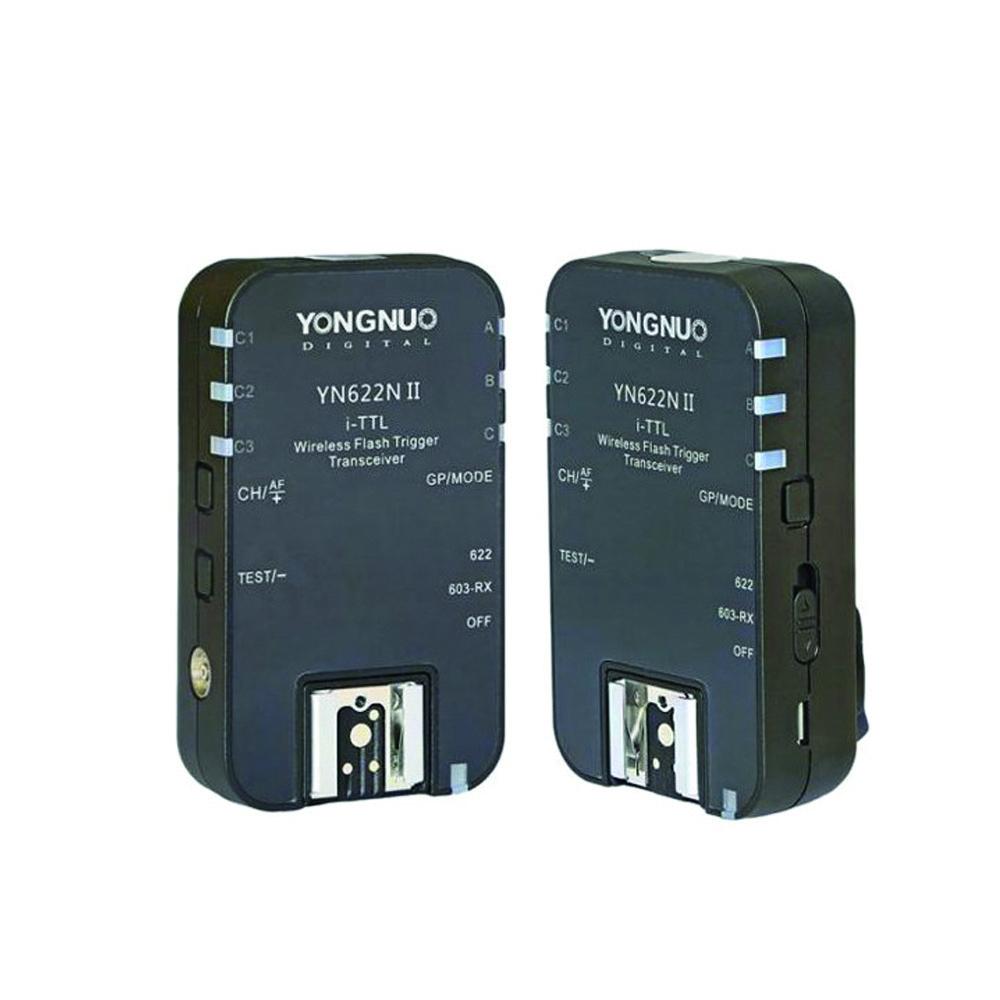 تریگر فلاش وایرلس یونگنو مدل YN-622N II i-TTL مناسب برای دوربین های نیکون