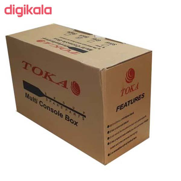 کنسول وسط خودرو توکا مدل dan01 مناسب برای پژو 405 main 1 4