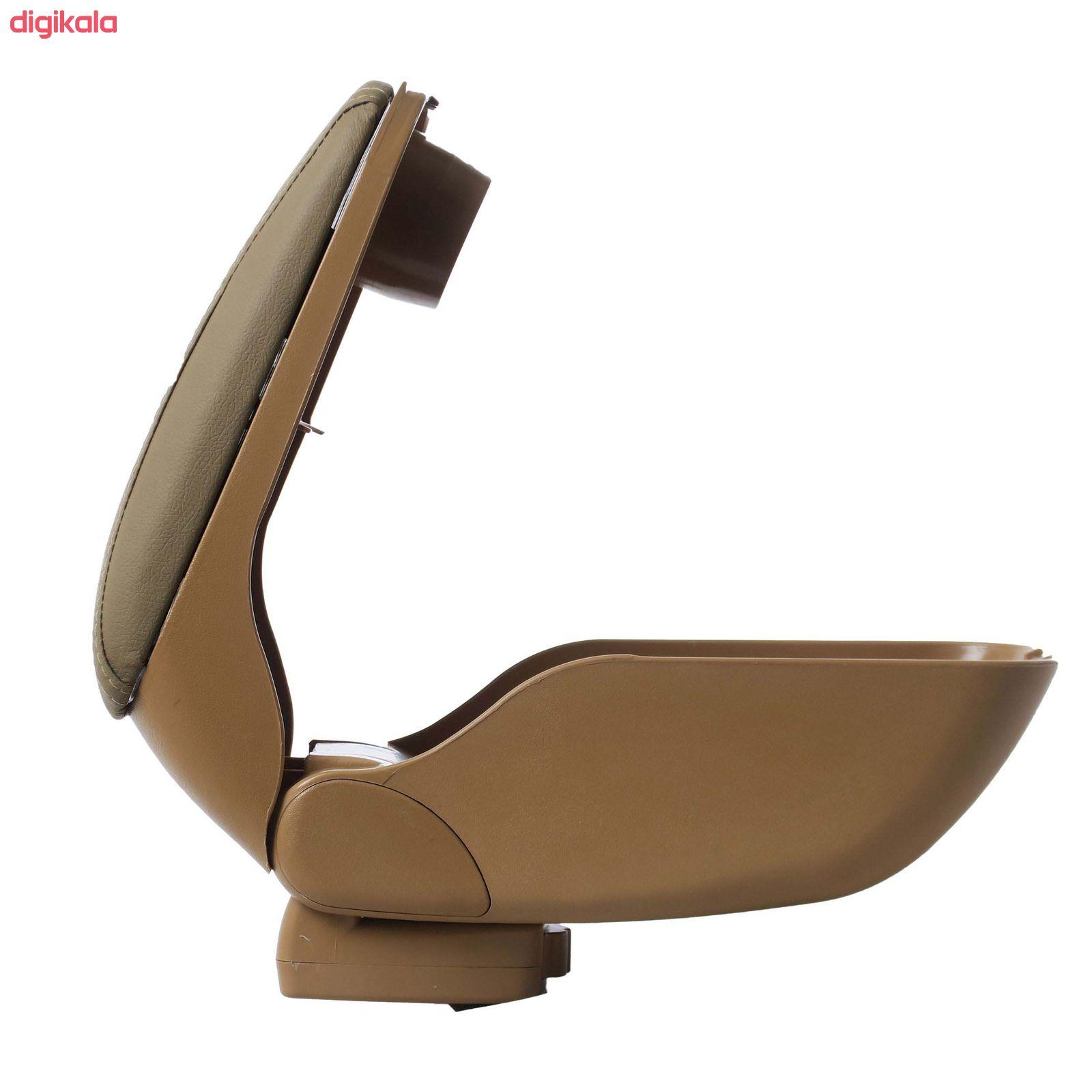 کنسول وسط خودرو توکا مدل dan01 مناسب برای پژو 405 main 1 1