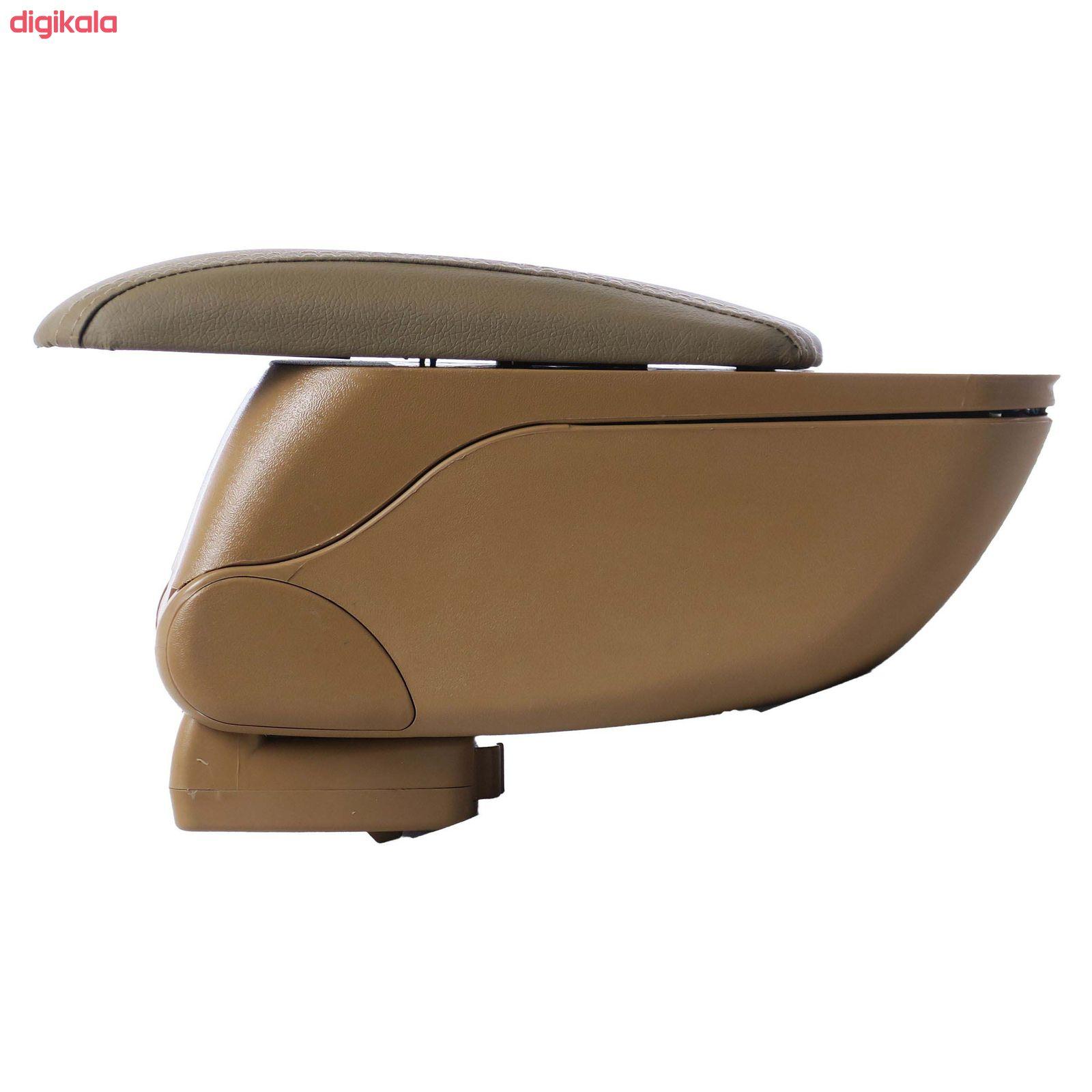 کنسول وسط خودرو توکا مدل dan01 مناسب برای پژو 405 main 1 2