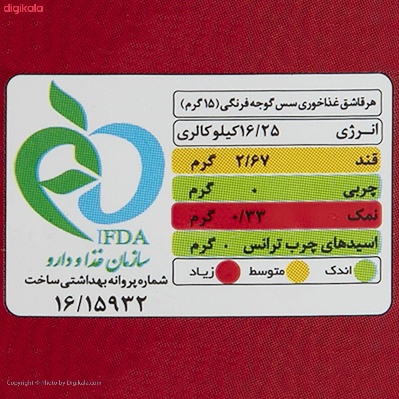 سس گوجه فرنگی بیژن - 290 گرم main 1 3