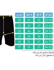 شلوارک ورزشی مردانه تکنیک پلاس 07 کد SH-128-ME-ZA -  - 5