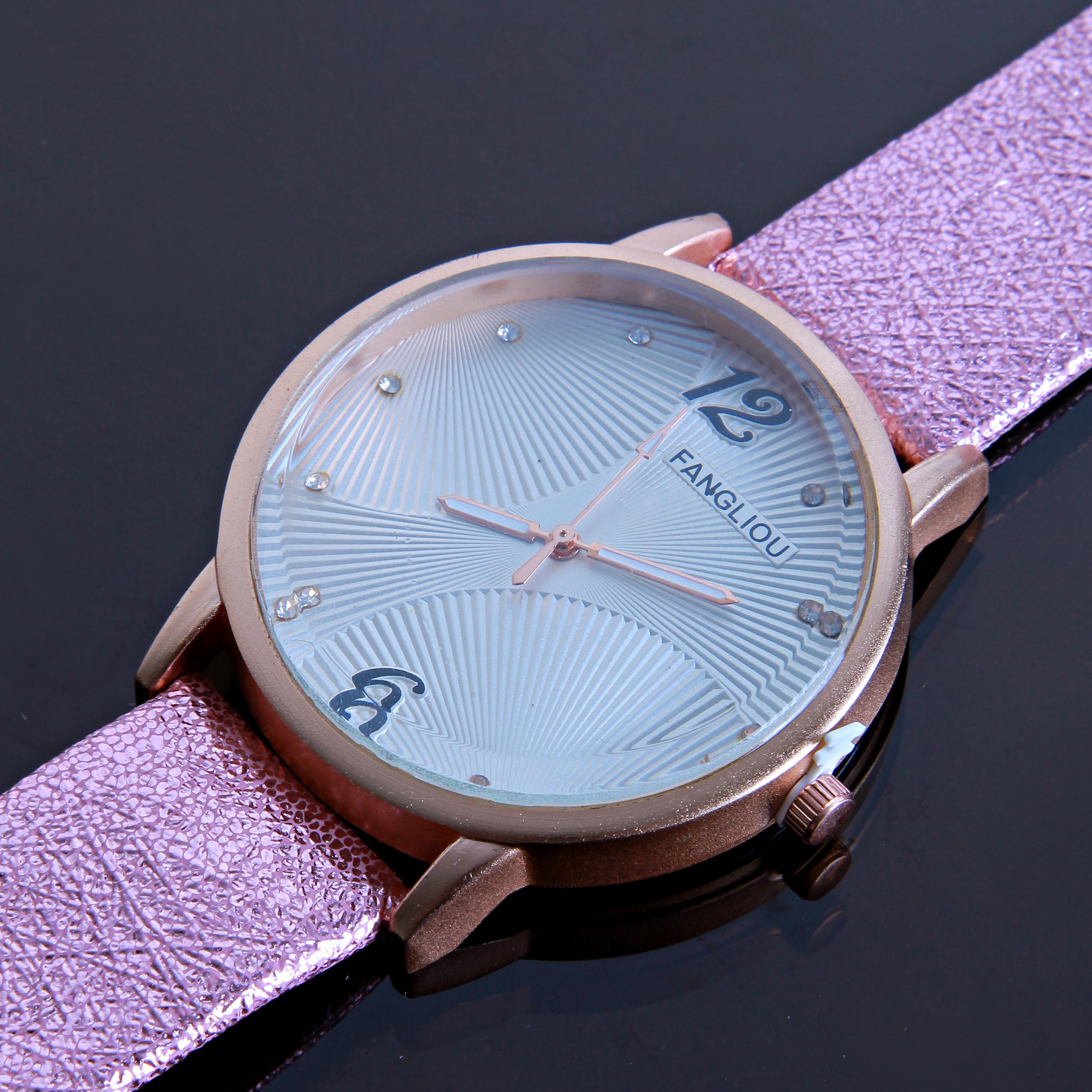 ساعت مچی عقربه ای زنانه کد WHW_018              ارزان