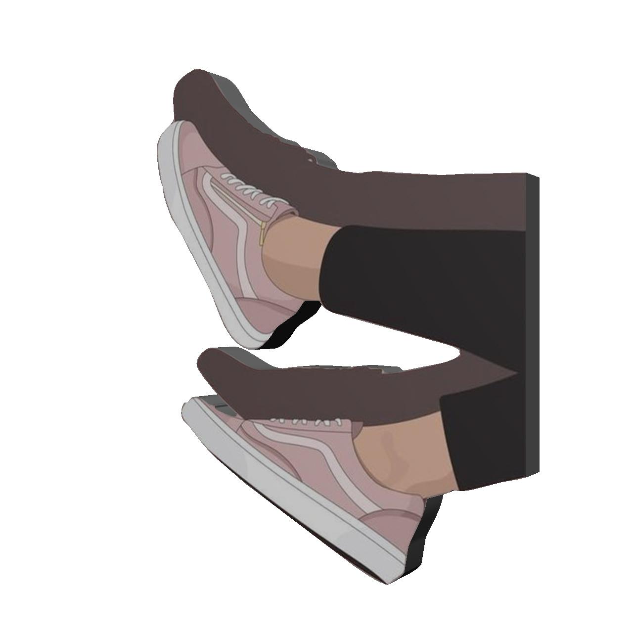 استیکر طرح کفش کد 691