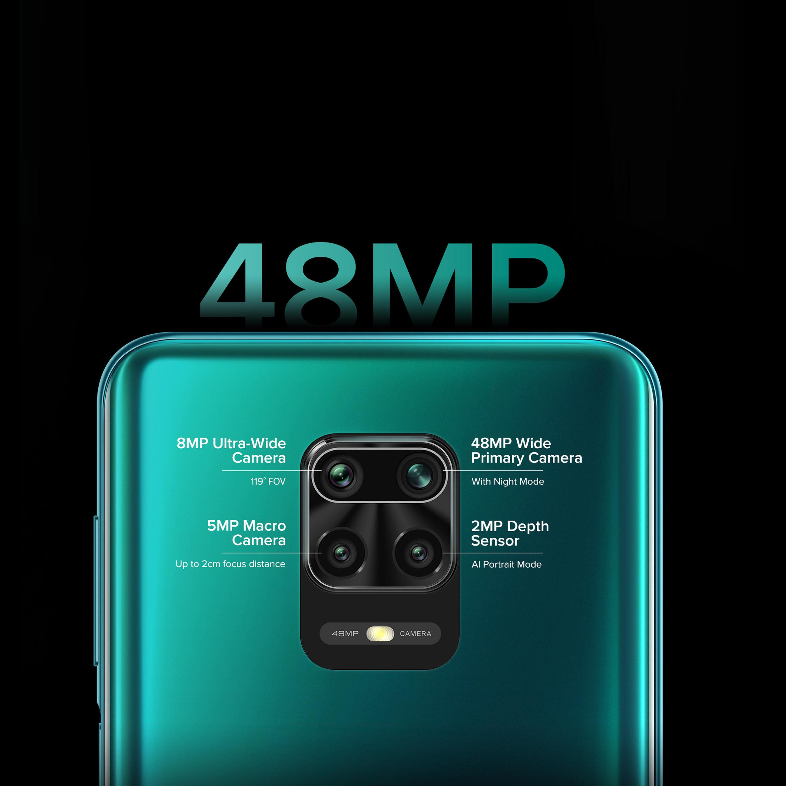 گوشی موبایل شیائومی مدل Redmi Note 9S M2003J6A1G دو سیم کارت ظرفیت 128گیگابایت main 1 7