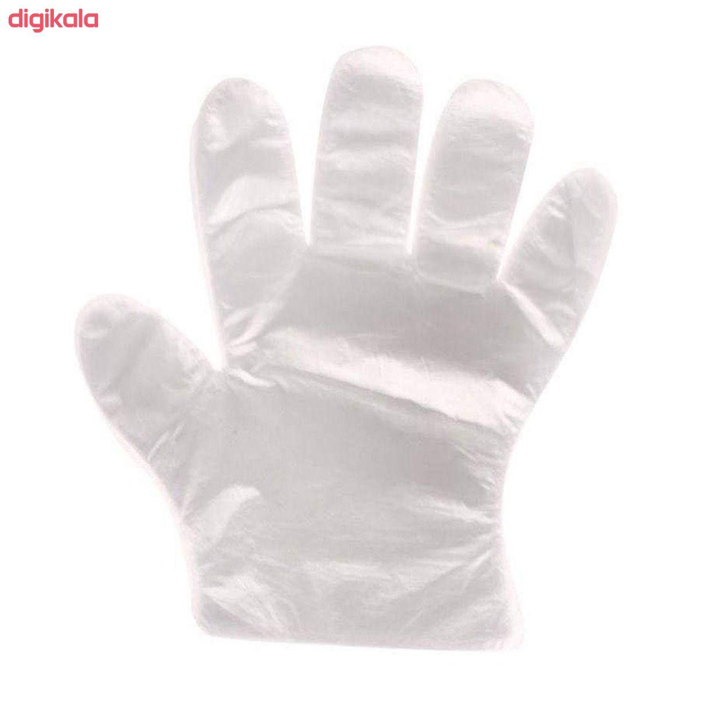 دستکش یکبار مصرف مدل 01 بسته 100 عددی main 1 2
