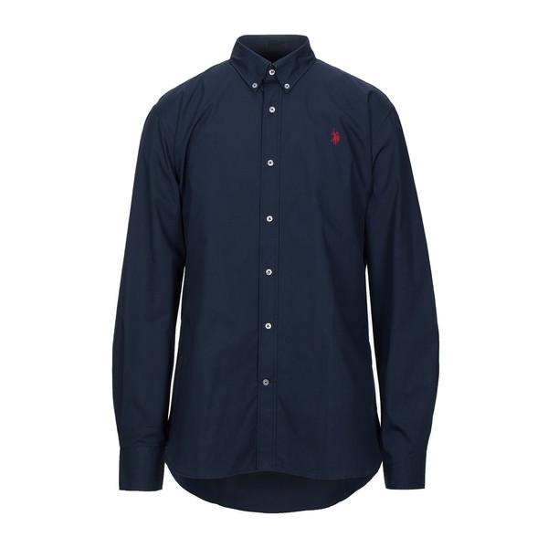 پیراهن آستین بلند مردانه یو اس پولو مدل 54514
